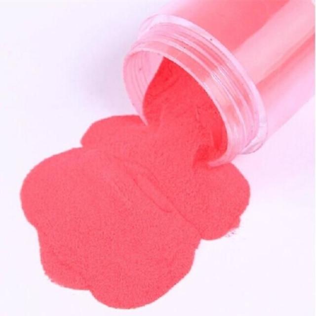 1*12 Opeka Glitter puder Lijep 12 boja Voće Cvijet Sažetak Dnevno za prst nožni prst / Crtići / Punk