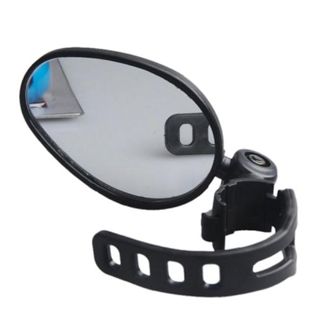 Oglindă Retrovizoare Oglindă retrovizoare pentru bicicletă Ajustabile zbor de 360 grade Un unghi larg de vizionare Siguranță pentru Bicicletă șosea Bicicletă montană Ciclism Plastic Cauciuc Negru