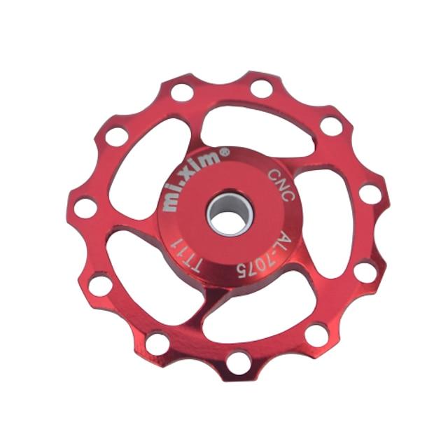 Fietsen Derailleurs Fietsgeleiderwiel Fietsen Duurzaam Voor Wielrennen Racefiets Mountainbike Aluminium profiel Gouden Zwart Rood