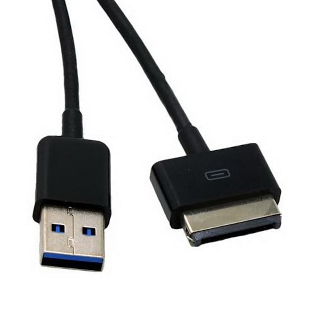 USB כבל כבל נתונים סנכרון 3.0 מטען לtf201 / tf101 / tf300 / tf700t שנאי משטח Eee ASUS ראש (1M, 2m, 3M)