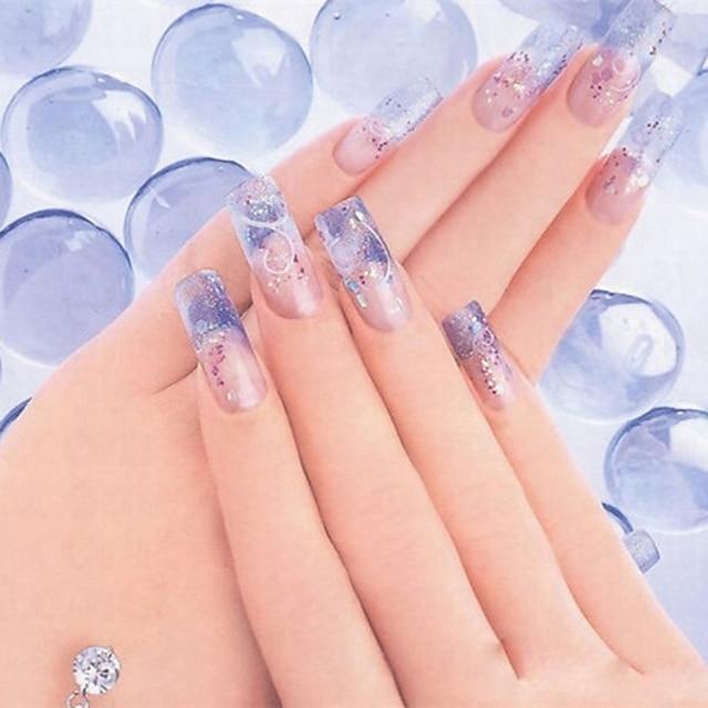 1 pcs Acrylique Poudre acrylique Pour doigt Manucure Manucure pédicure Quotidien Abstrait / Mode