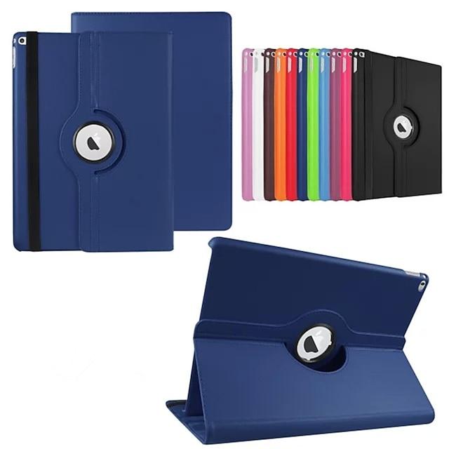 telefono Custodia Per Integrale iPad Pro 12,9 pollici Rotazione a 360° Con supporto Origami Tinta unita pelle sintetica