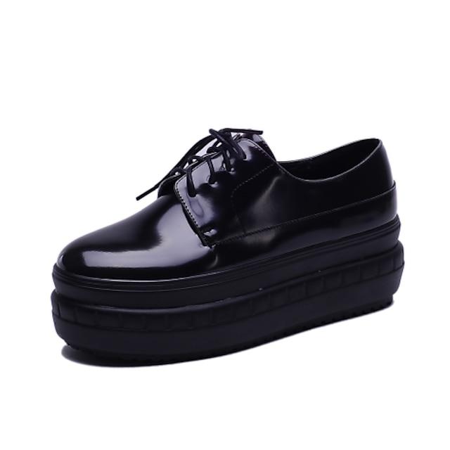 Women's Shoes Platform Heels / Platform Heels Office & Career / Dress / Casual Black / Red / White