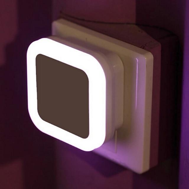 беспроводной датчик светодиодный ночник вилка европейского стандарта мини квадратные ночники для детской комнаты спальня коридор лампа