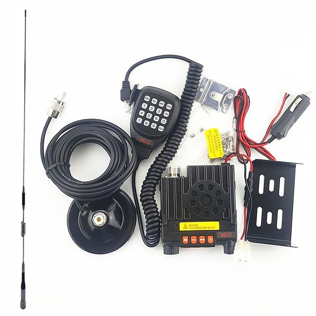365 365 K-303 Járműre szerelt Vészriasztás / Alacsony Akkufeszültség Figyelmeztetés / Programozható PC szoftver  >10KM >10KM Kézi adóvevő Két Way Radio