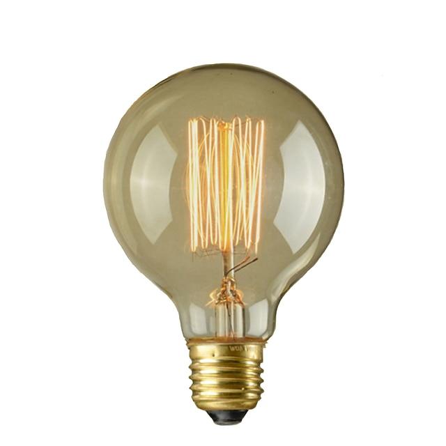 1 stuk 40 W E26 / E26 / E27 / E27 G95 Warm wit 2300 k Gloeilamp vintage Edison lamp 110-220 V / 220-240 V / 110-130 V
