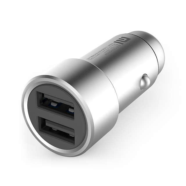 Car Charger USB Charger Universal Fast Charge 2 USB Ports 2.4 A DC 12V-24V for