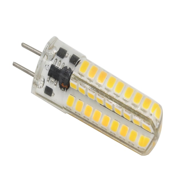 3 W LED Bi-pin Lights 320-350 lm GY6.35 T 72 LED Beads SMD 2835 Dimmable Warm White 12 V