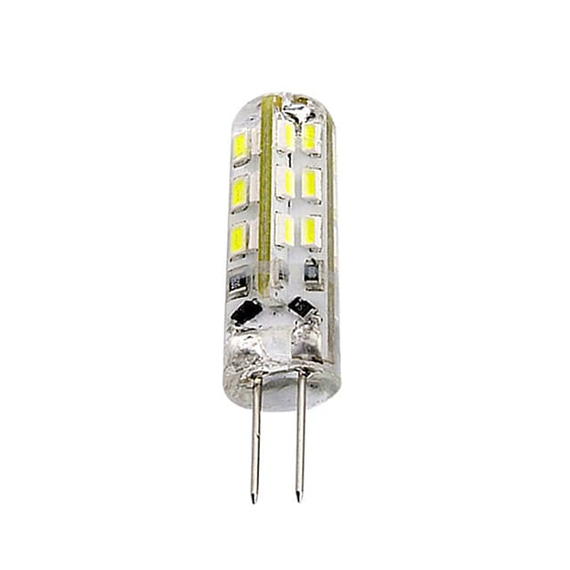 1 τεμάχιο 1,5w g4 λαμπτήρας led bi-pin 24 smd 3014 dc 12v πράσινο μπλε κόκκινο φως