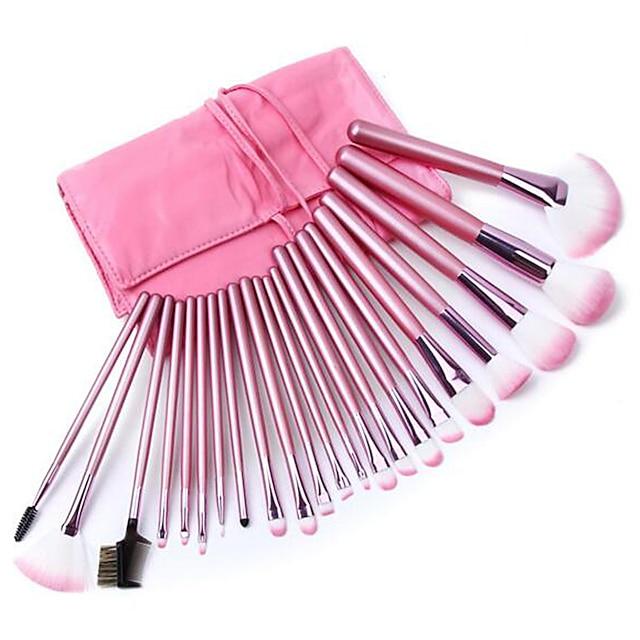 Profesional Machiaj perii Seturi perie 22pcs Portabil Profesional Perie Fibre Artificiale Pensule de Machiaj pentru Pensulă Blush Perie Fond Perie Fard Set Pensule Machiaj Perie Pudră