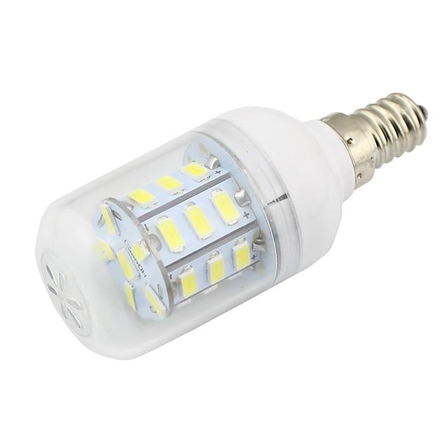 1pc  3W E14 Corn Led Bulb Light DC  AC 12V 24V Energy Saving Lamp for RV Car Boat Warm White  Cold White