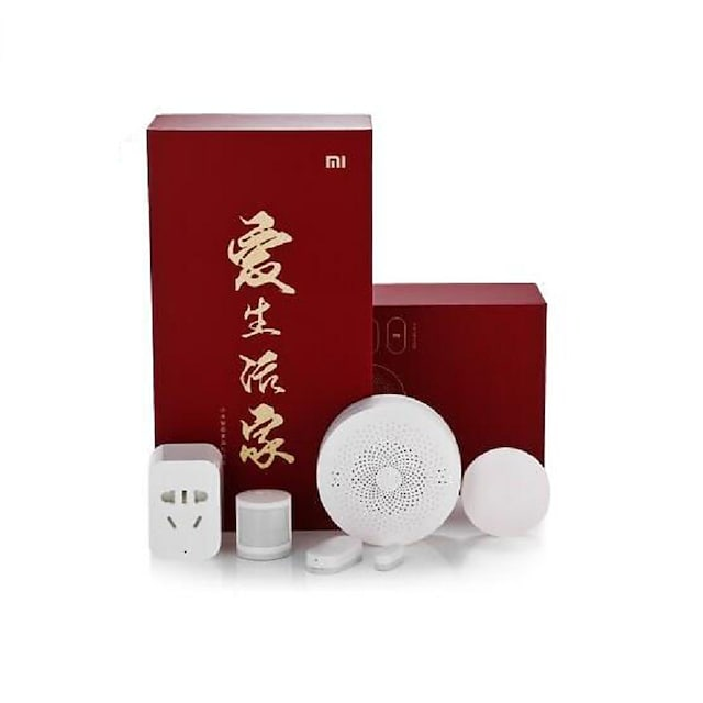 Original Xiaomi 5 in 1 Smart Home Security Kit Wireless Switch Sensor