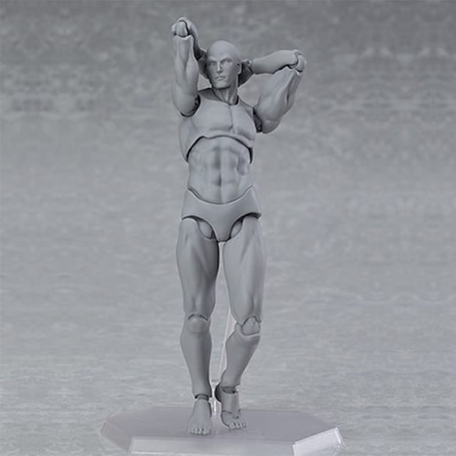 Display Model Posable Art Mannequin Model Building Kit Art Supplies Fun Artistic Classical Classic High Quality Boys' Gift