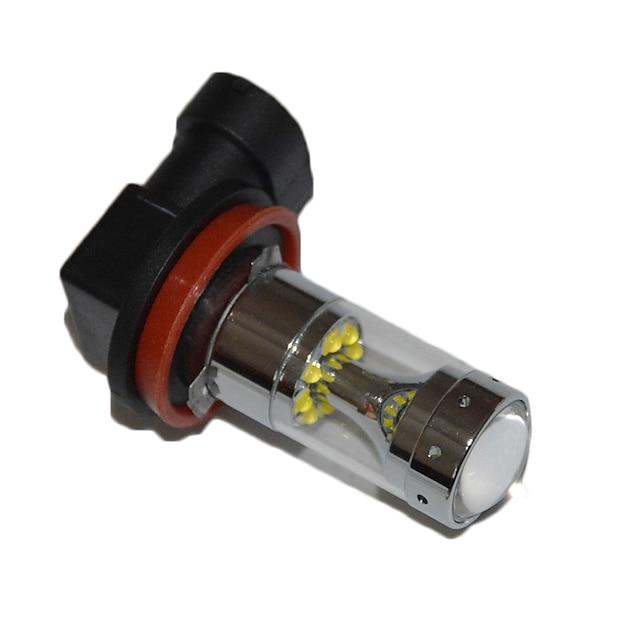 1 pcs H8 H9 H11 ampoules de voiture 60 W haute performance LED antibrouillard voiture conduite lumière antibrouillard canbus sans erreur