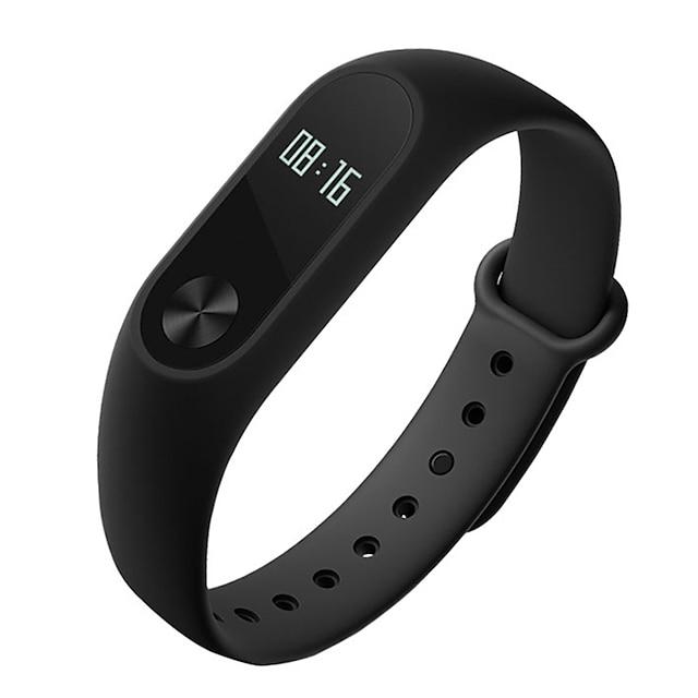 Xiaomi Mi band 2 Activity Tracker / Smart Bracelet Smartwatch iOS / Android Water Resistant / Waterproof / Touch Screen / Heart Rate Monitor Proximity Sensor / Accelerometer / Heart Rate Sensor Black