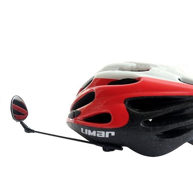 Rear View Mirror Bike Helmet Mirror Adjustable Lightweight 360°Rolling / Rotatable Cycling Bicycle motorcycle Bike Plastics Ferroalloy Road Bike Mountain Bike MTB Folding Bike