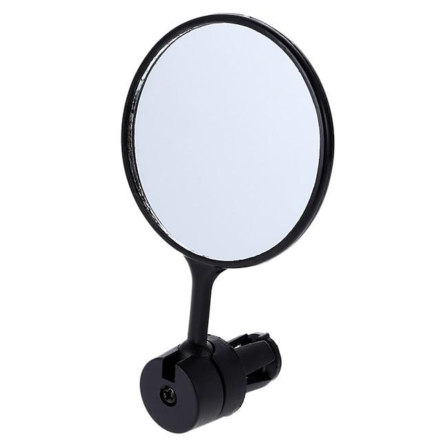 Зеркало заднего вида Барное зеркало для велосипеда Полет с возможностью вращения на 360 градусов Функция вращения Велоспорт мотоцикл Велоспорт Пластик