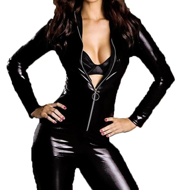 Žene Sa životinjama Spol Zentai odijela Cosplay kostim Mačkica Jednobojni Triko / Onesie