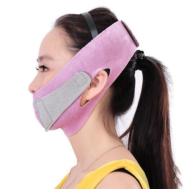 les femmes réduisent le double menton mince visage anti-rides visage minceur bandage masseur facial ceinture de lifting