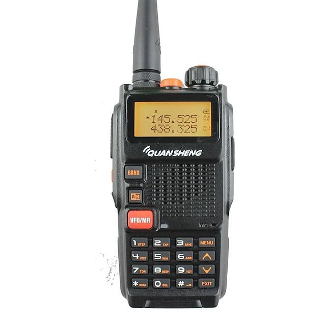 365 Portable Alarme d'urgence / Avertissement Batterie Faible / Logiciel PC Programmable 5 - 10 km 5 - 10 km 5 W Talkie walkie Radio bidirectionnelle