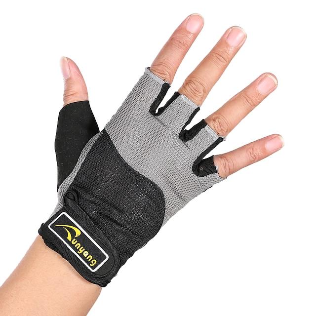 Aktivitets- og Sportshandsker Halvfinger-handsker / Åndbart / Bekvem til Gym Træning / Motion og fitness / Vandring 1 Par
