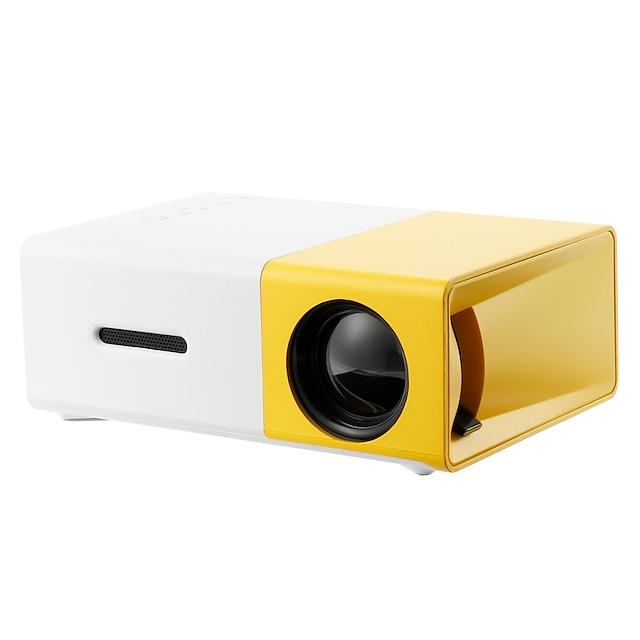 YG300 Home Theater Cinema USB HDMI AV SD Mini Portable HD LED LCD Projector Beamer Home Media Movie Player Support 1080P AV USB SD Card 320 x 240 HDMI / USB / AV / CVBS for Home School Office