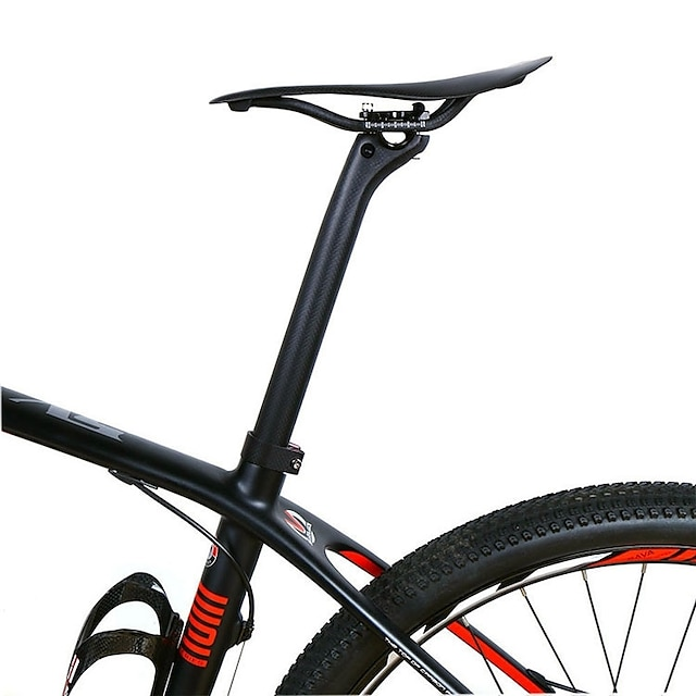 Carbon Fiber Bike Seatpost 31.6 mm Road Bike Mountain Bike MTB Cycling 3K Matt Black Carbon Fiber