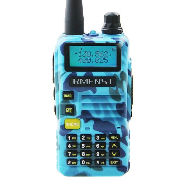 RMENST 5 Km -10 Km 5 Km -10 Km 2000 mAh 8 W Ricetrasmittente Radio bidirezionale