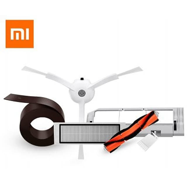 5PCS Mi Robot Vacuum Smart Cleaner Accessories Virtual Wall Side Brushes Filter Rolling Brush and Cover for Xiaomi