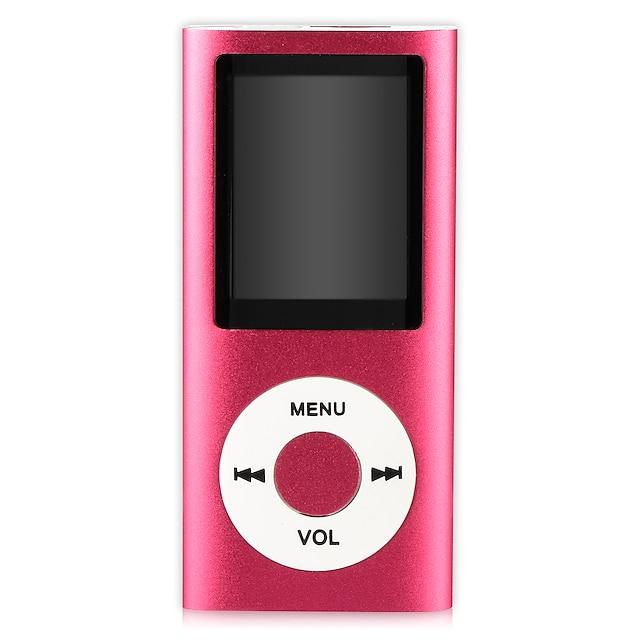 lecteur mp3 lecteur mp4 lecteur de musique support 32gb mémoire carte sd slim classique lcd numérique écran 1,82 `` mini port usb avec enregistrement vocal radio fm