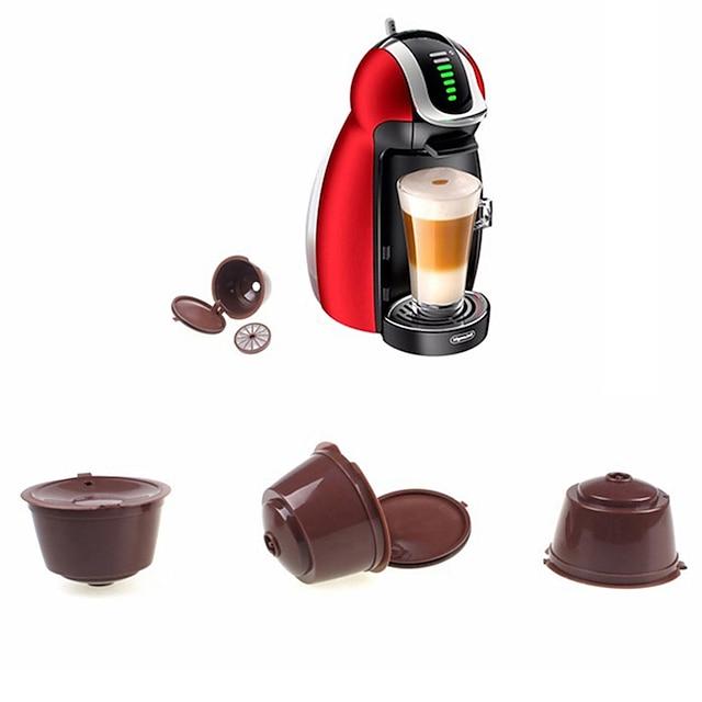 capsule réutilisable pour dolce gusto café nescafé rechargeable utilisation 150 fois