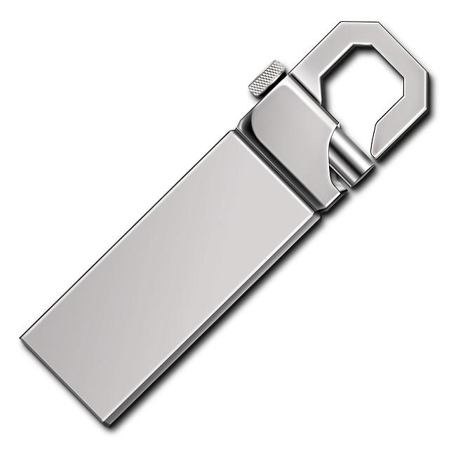 Ants 32GB USB แฟลชไดรฟ์ ดิสก์ USB USB 2.0 Metal M105-32