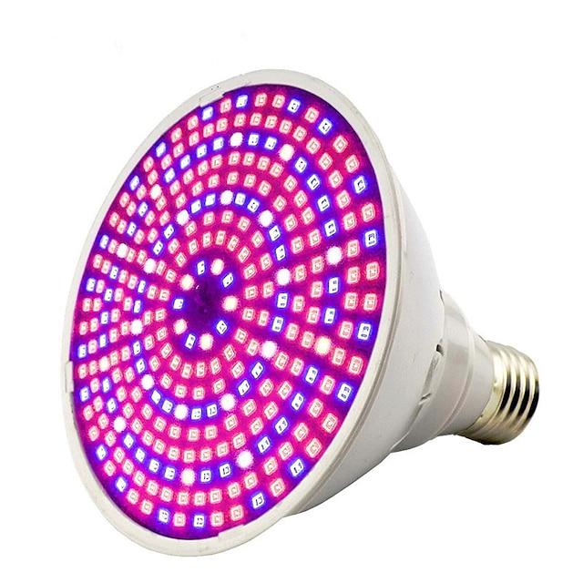 1pc 30 W Growing Light Bulb 1600 lm E26 / E27 290 Cuentas LED SMD 2835 Decorativa Blanco Cálido Blanco Fresco Rojo