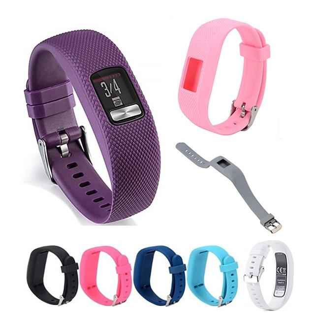Smartwatch-Band für Garmin 1 pcs Sportband Silikon Ersatz Handschlaufe für Vivofit 3