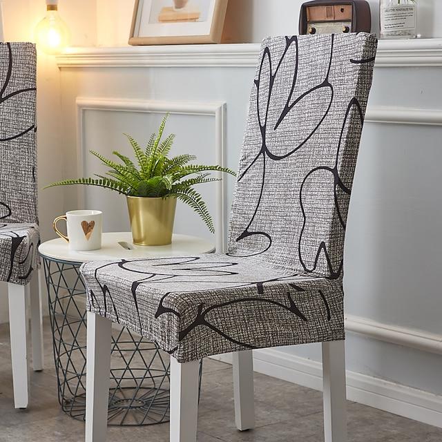 כיסוי לכיסא צבעים מרובים הדפסה תגובתית פוליאסטר כיסויים