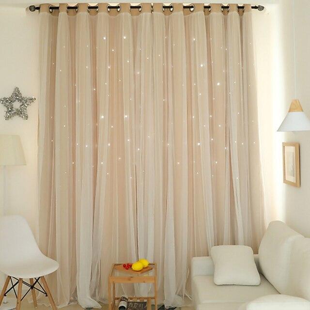 оконная занавеска с прозрачными шторами, затемняющая комната для обработки окон, блокирование света, украшение для дома, однотонный однотонный цвет для спальни, гостиной, спальни для девочек