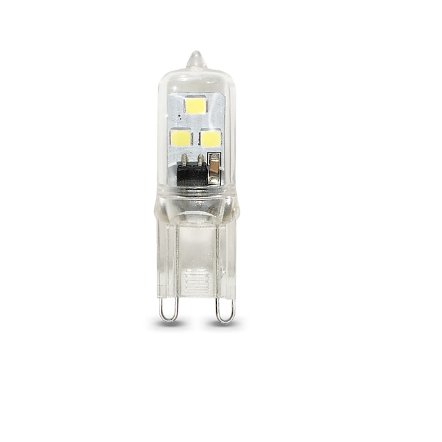 1 stk 1 W LED-lamper med G-sokkel 100 lm G9 T 6 LED Perler SMD 2835 Varm hvid Kold hvid 220 V