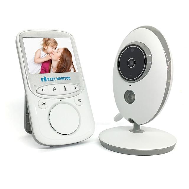 1 mp bébiőr 720p 2,4 hd kijelző videó biztonsági kamerákkal és audio ips képernyő 480ft hatótávolság 4500 mAh akkumulátor kétirányú hang egy kattintásos zoom éjszakai látás és termikus háziállat