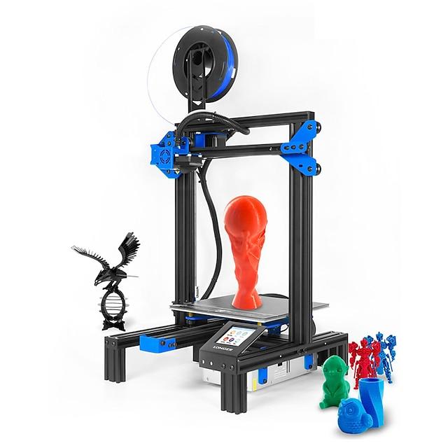 LONGER® LK 2 impressora 3d 220x220x250mm 0.4 mm Multifunções / Faça Você Mesmo / para cultivo