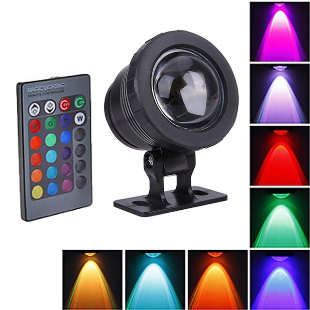Fountain Underwater Lights Waterproof Outdoor Lights 10 W 800 lm LED Beads Outdoor Lights Waterproof RGB 12 V