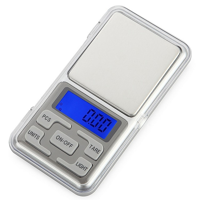 Tovární OEM DH-668B Mini kapesní digitální váha 200g/0.01g ± 0,05 g Přenosná Automatické vypnutí LCD displek Domácí život