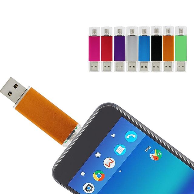 fourmis 64gb lecteur flash USB disque usb 2.0 128g micro usb coque en métal couvercles irréguliers