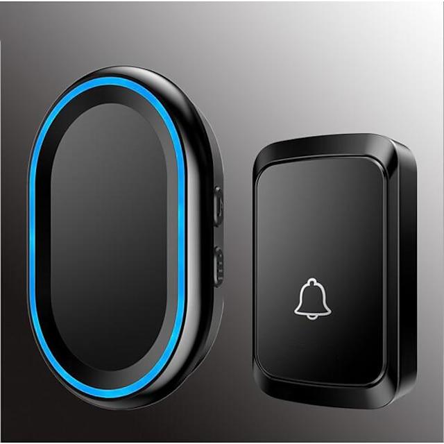 Wireless One to One Doorbell Muzică / Ding Dong Sonerie ușă ascunsă Montat pe suprafață