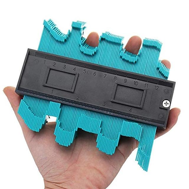 duplicador de medidor de contorno de forma ferramenta de medição de duplicação de contorno medidor de contorno modelo duplicador de cópia de contorno de plástico