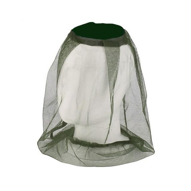 moucheron moustique insecte filet abeille maille tête protecteur chapeau de chasse camping randonnée couvert anti-moustique