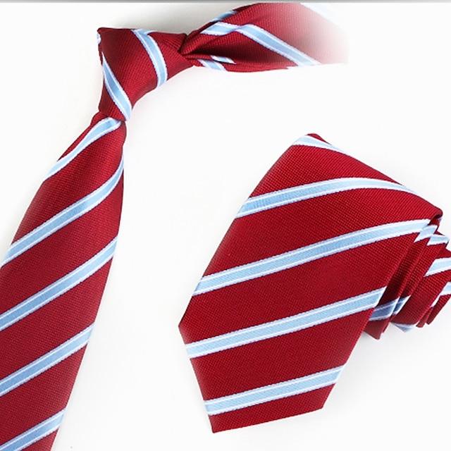 Men's Work Necktie - Striped
