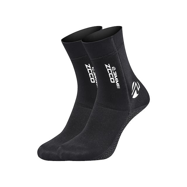 Dámské Pánské Neoprenové ponožky 3 mm Stylové Nylon Neoprén Rychleschnoucí Plavání Potápění Surfování Šnorchlování Akvalung - pro Dospělí