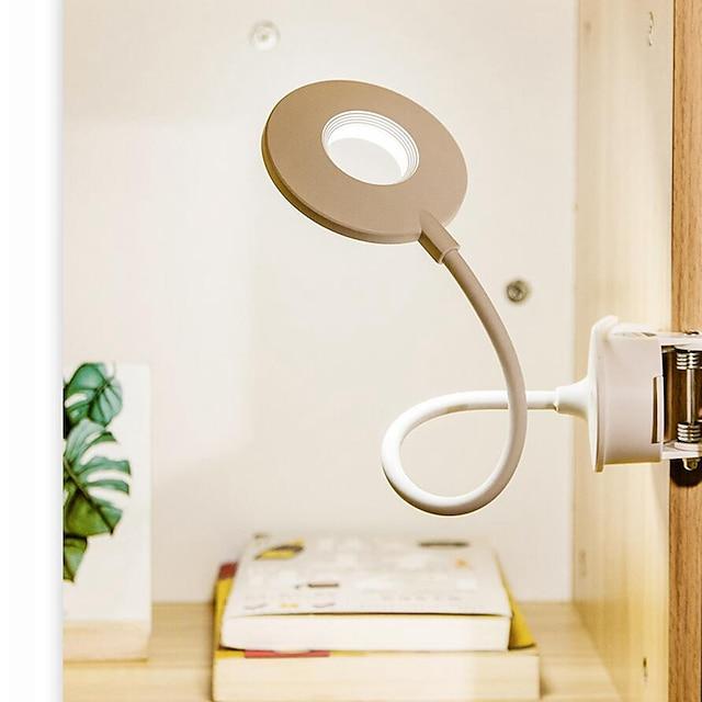 데스크 램프 크리스탈 / 눈부심 방지 현대 현대 붙박이 Li 건전지는 강화했다 DC 전원 제품 침실 / 걸 룸 플라스틱 화이트