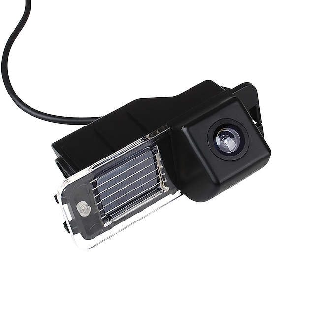 ZIQIAO 720 x 480 CCD Wired 170 Degree Rear View Camera Waterproof for Car