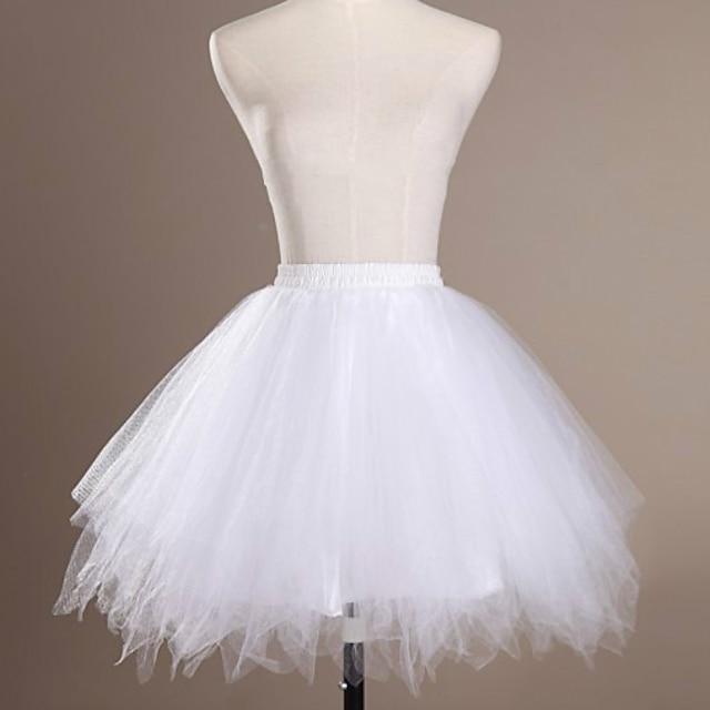 בלט לוליטה קלאסית שנות ה-50 שמלת חופשה שמלות שמלה תחתית קרינולינה שמלת נשף בגדי ריקוד נשים בנות טול תחפושות לבן / שחור / סגול וינטאג קוספליי חתונה מפלגה נסיכה / מעיל תחתון